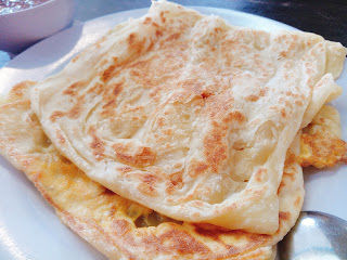 Roti Kosong on the top