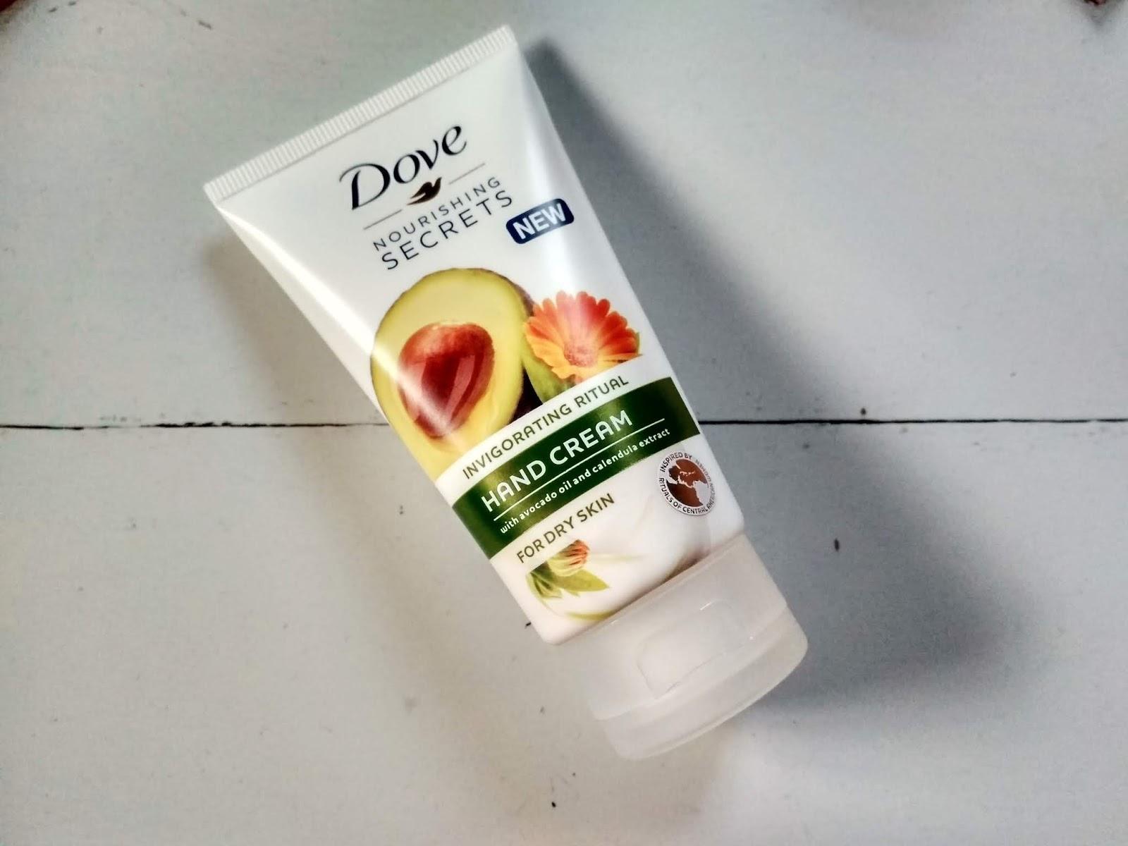 Recenzja - Dove krem do rąk dla skóry suchej awokado i nagietek