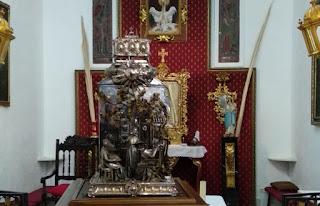Las reliquias de San Juan de Ávila visitan Córdoba