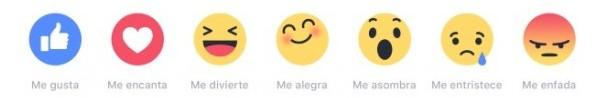 Emociones en Facebook - MasFB