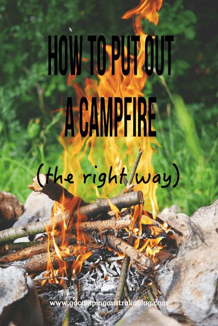 do you know how to put out a campfire the right way?