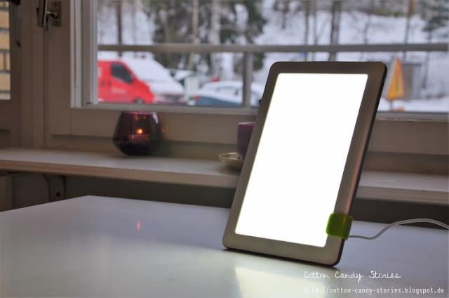 Tageslichtlampe gegen den Winterblues