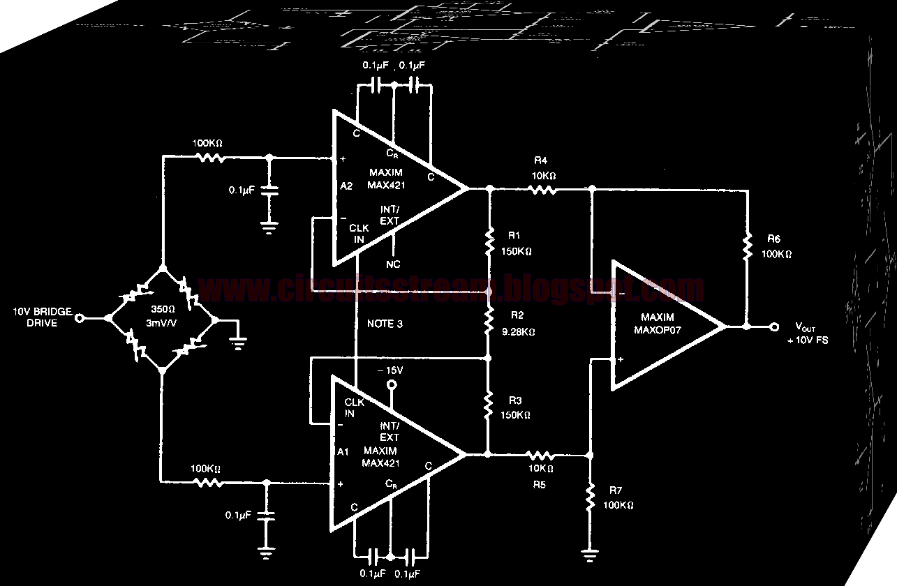 Simple SGI Amplifier Circuit Diagram