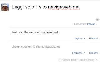 stati facebook tradotti