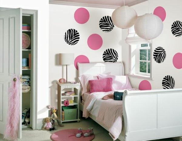 diseño dormitorio rosa y negro