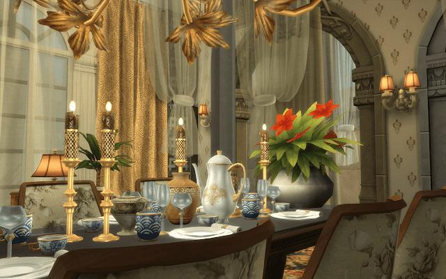 repas marocain sims 4