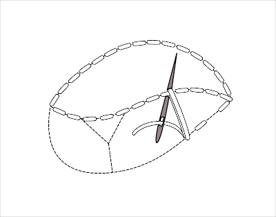 Cutwork: single bar - Intaglio: barretta singola