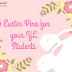 5 Easter Pins for your YL Students