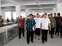 Agar Segera Beroperasi, Walikota Medan Minta Finishing Pasar Marelan Dilakukan Secepatnya