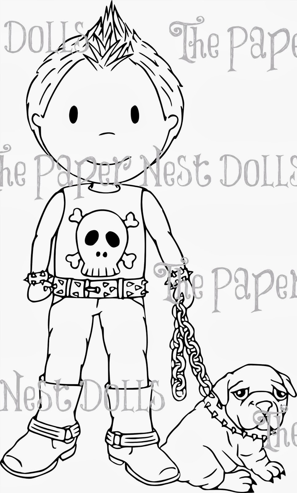 The Paper Nest: PUNK DOLLS are here