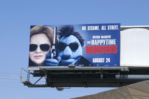 Happytime Murders billboard