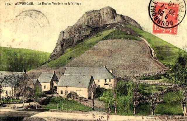 La Roche Vendeix, Auvergne.