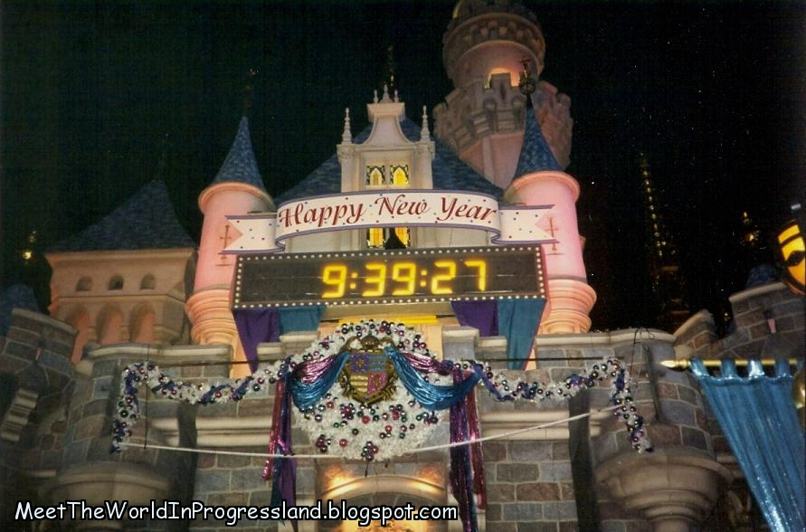 Meet The World: New Year's Eve At Disneyland - 1996