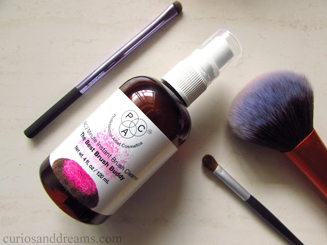 PAC Instant Brush Cleanser review, Instant Brush Cleanser review, Instant Brush Cleanser india