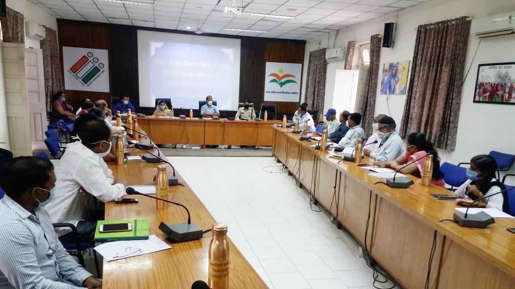 Jhabua News- महिला एवं बाल विकास विभाग की जिला स्तरीय टास्क फोर्स की बैठक सम्पन्न