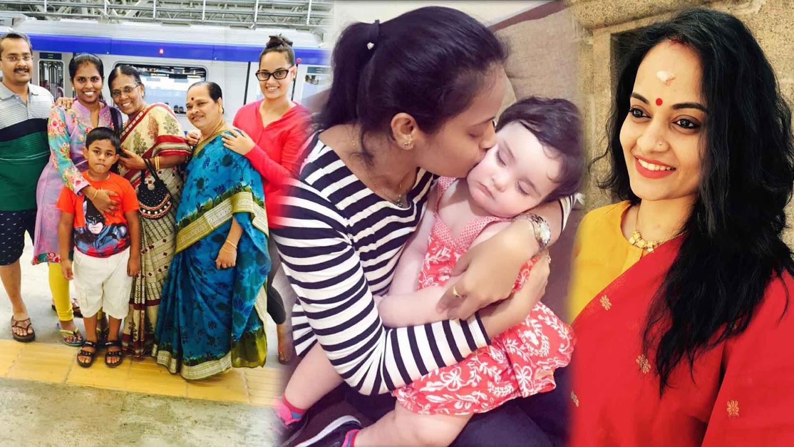 Pakka.tv: Bigg Boss Tamil Suja Varunee Family Photos ...