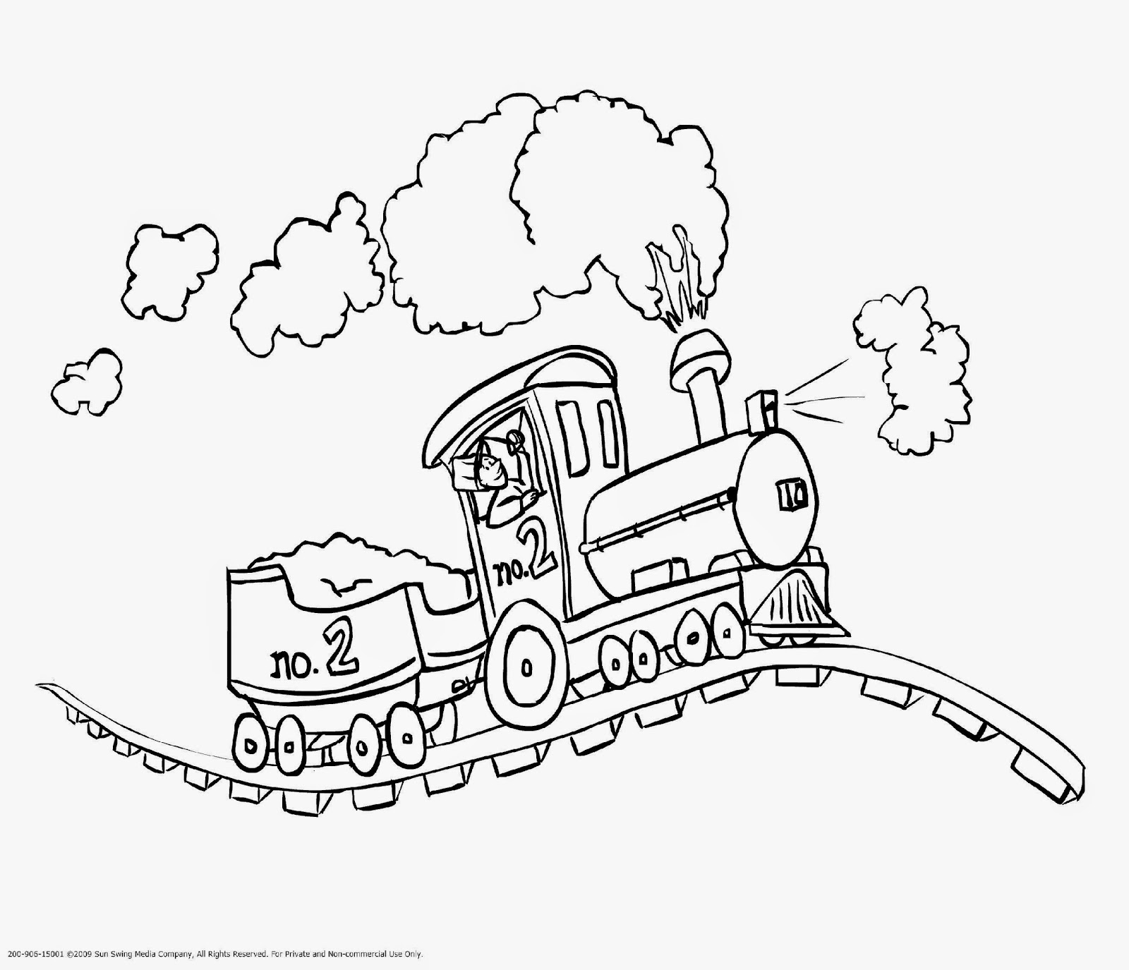 16 train coloring pages  Printable and Colors
