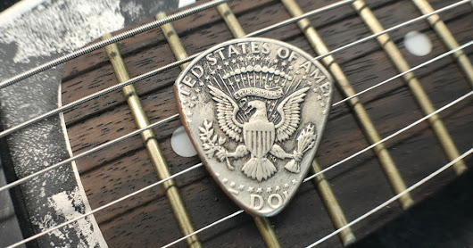 Make Something Unique, Check Out Our Vintage Coin Guitar Picks