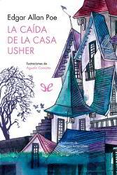 Portada del libro completo La caída de la casa Usher Descargar pdf gratis