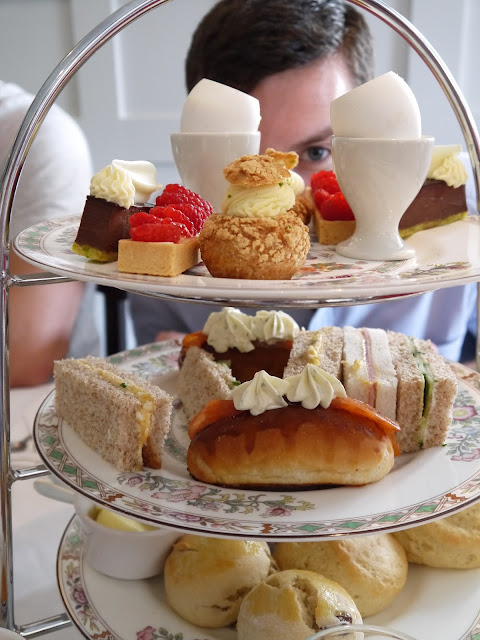 Afternoon Tea The Black Swan Helmsley The Betty Stamp