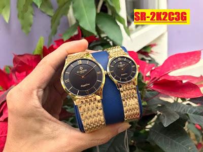 Đồng hồ cặp đôi Sunrise 2K2C3G