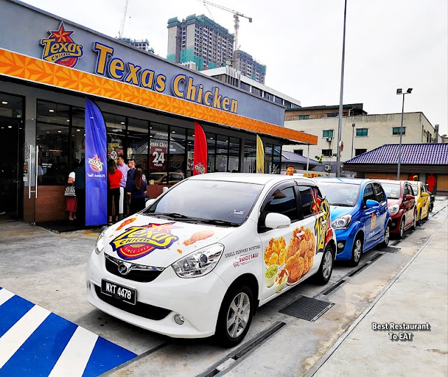 Texas Chicken Drive Thru Sunway Mentari Address
