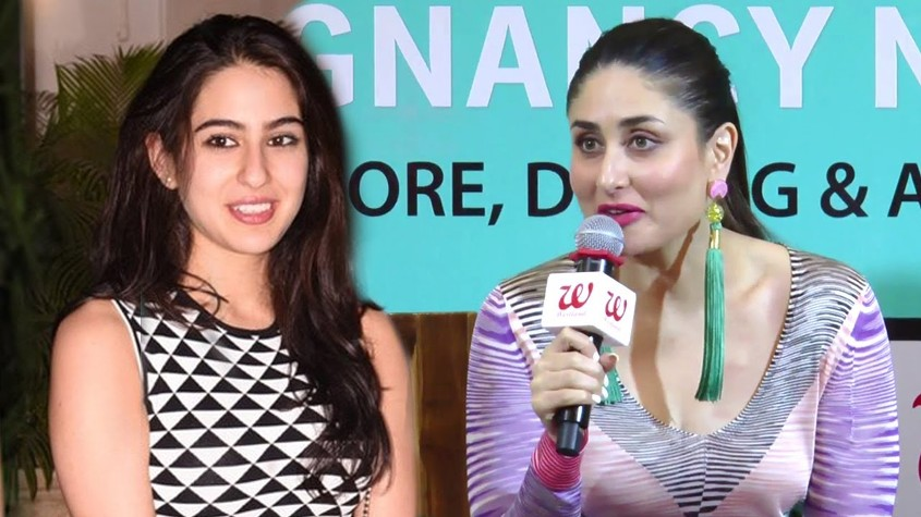 Sara Ali Khan with Kareena Kapoor