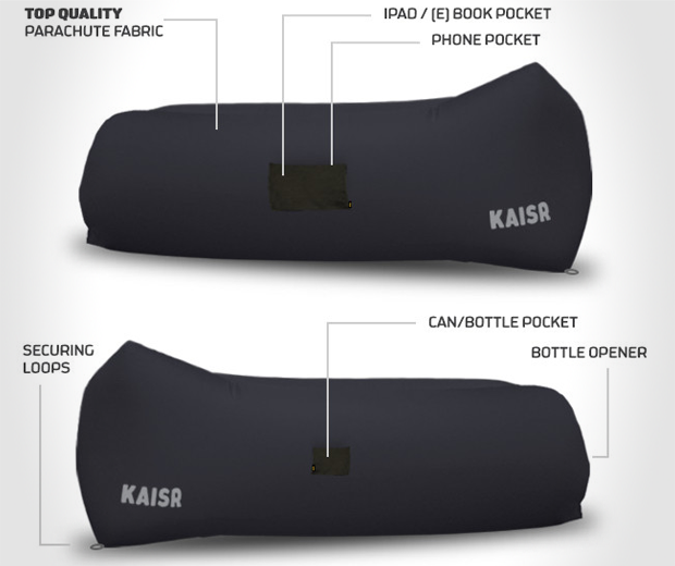The Kaisr Inflatable Air Lounger