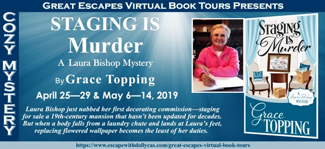 That's What She's Reading: CHARACTER GUEST POST: Staging is Murder