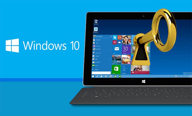 windows 10 lisans anahtarı
