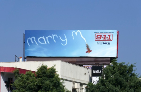 Marry M 911 season 2 billboard