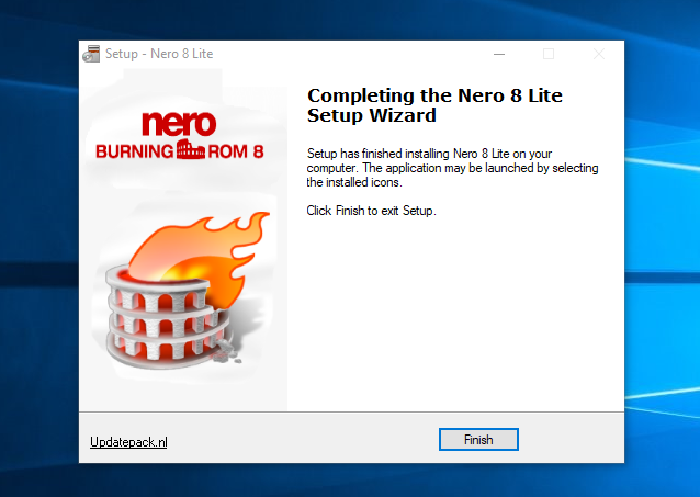 Install Nero 8 Lite Full Version