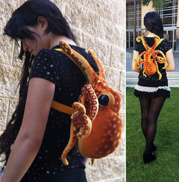 A bag like octopus