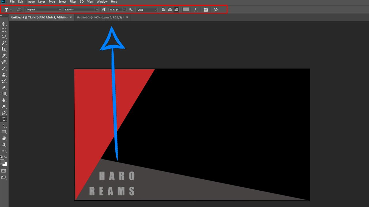 Mengenal Font dan Alat Teks Pada Adobe Photoshop