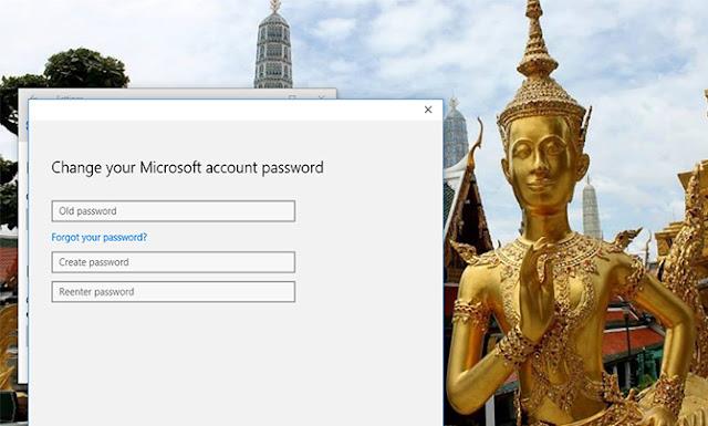 mengubah password Windows