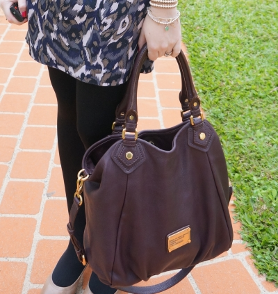 Away From The Blue Blog Marc by Marc Jacobs Carob Brown Fran Handbag