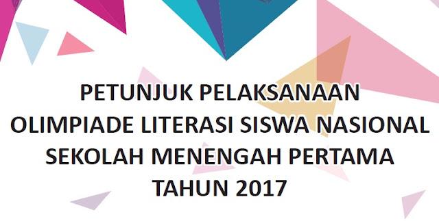 Juknis Olimpiade Literasi Siswa Nasional SMP 2017