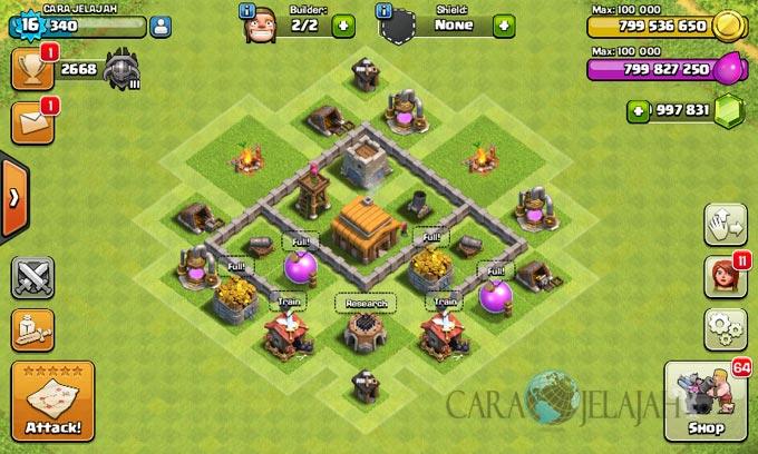 Desain Base Town Hall 3 Terbaik Dan Terbaru Clash Of Clans 22