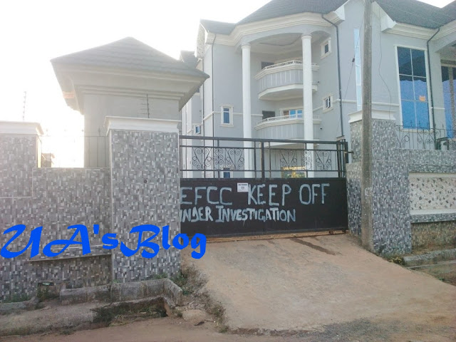 EFCC Seals Off Multi-Billion Naira Hotel In Abia State (Photos)