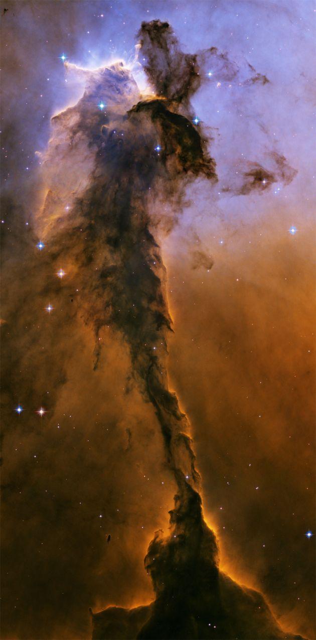 Three Kings Nebula Hubble - Pics about space