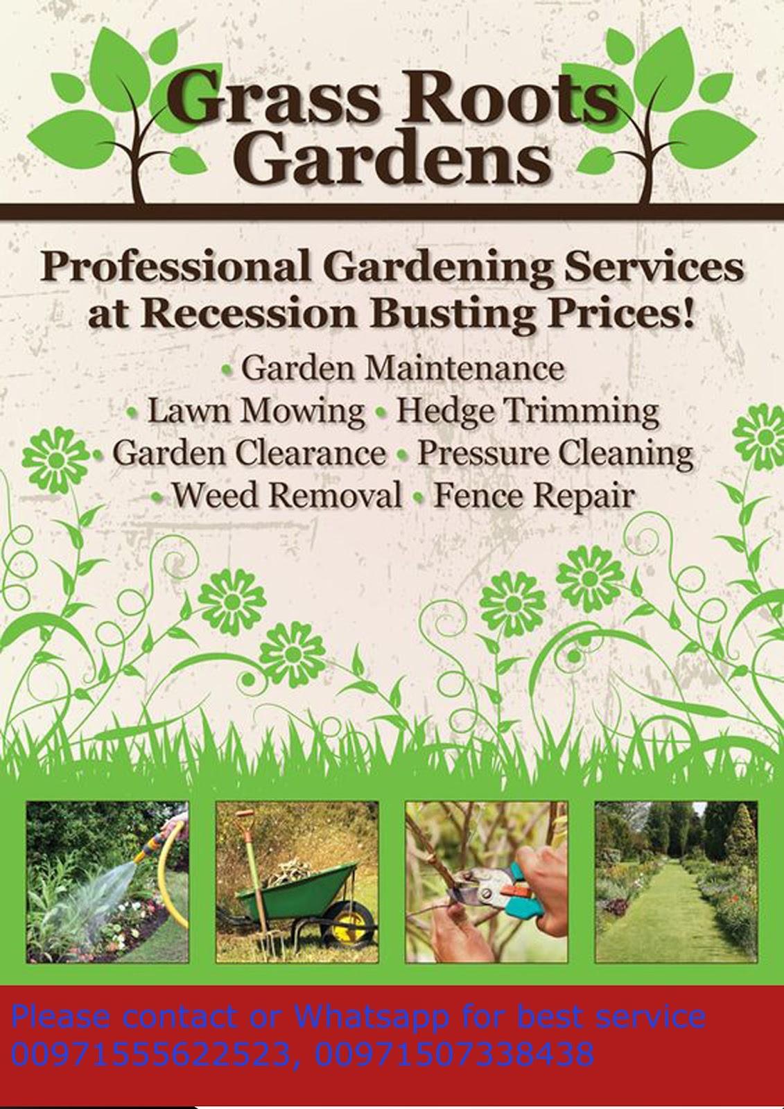 Four seasons garden landscape works for Gardening services