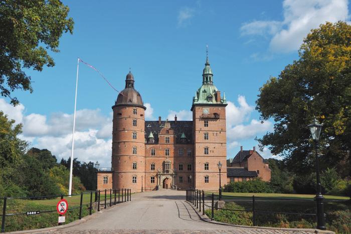 Château Vallø slot au Danemark
