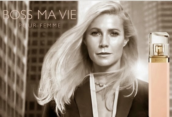 BOSS MA VIE Pour Femme, Gwyneth Paltrow, Fragrance, Boss Fragrance, Hugo Boss, Fragrance world, Boss Ma vie