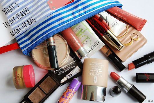 What´s in my travel make up bag