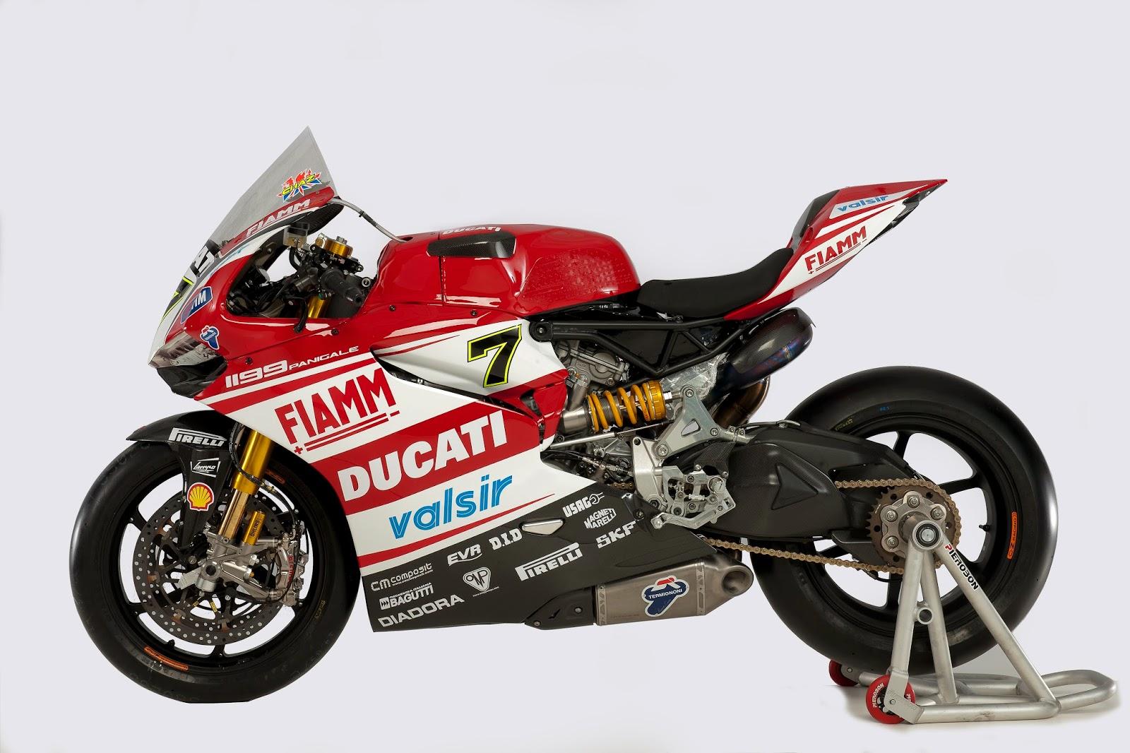 Racing Cafè: Ducati 1199 Panigale Ducati Superbike Team 2014