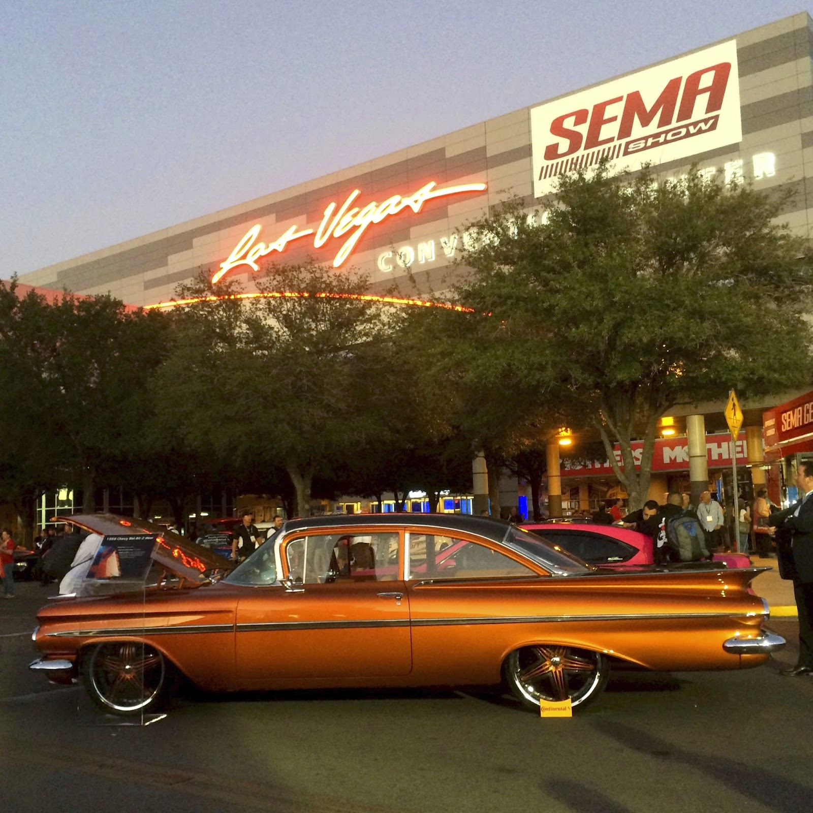 Covering Classic Cars Custom Cars And Hot Rods At The 2014 Sema Show