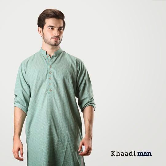Khaddi Men Eid Collection 2014 Tabish Oza