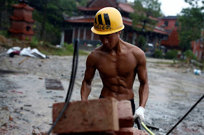 A Chinese migrant worker shot to online stardom by livestreaming minutes of his job at a construction site