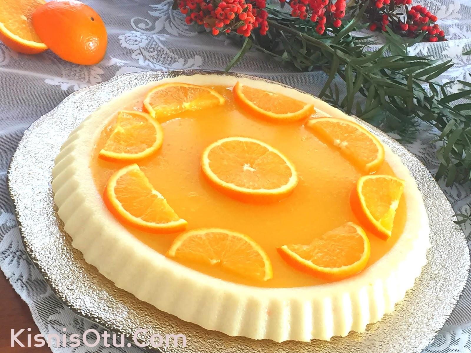 Portakal Pelteli Irmik Tatlısı
