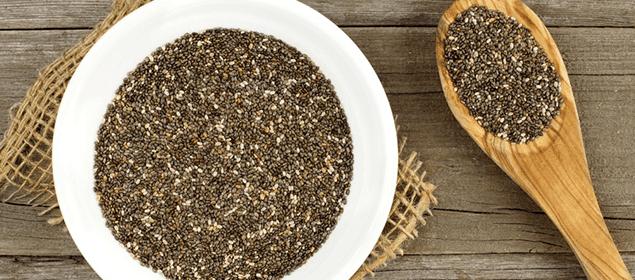 semillas de chía contra el estreñimiento